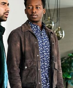 God Friended Me Brandon Micheal Hall Leather Jacket