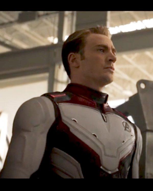 Avengers Endgame Captain America Quantum Jacket