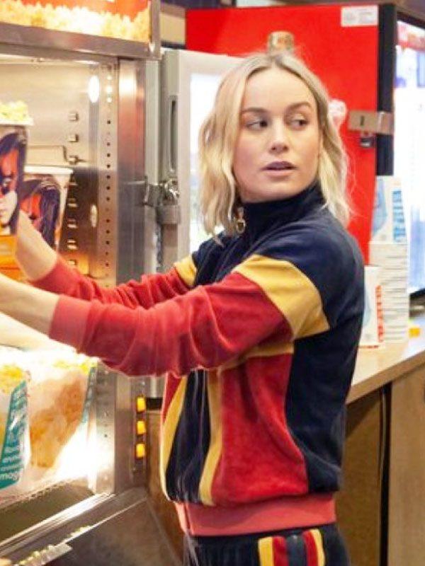 Brie Larson Captain Marvel Theatre Jacket