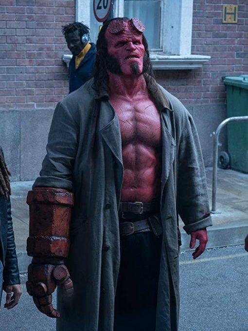Hellboy David HarbourCoat