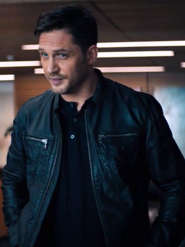 Eddie Brock Venom Leather Jacket