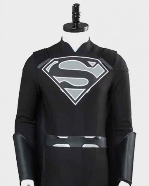 Black Superman Suit Elseworld Leather Jacket