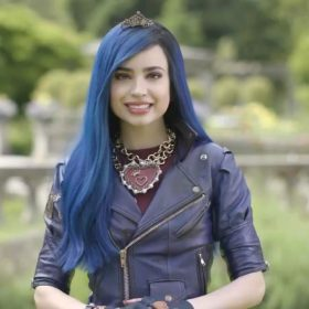 Evie Descendants 3 Motorcycle Jacket