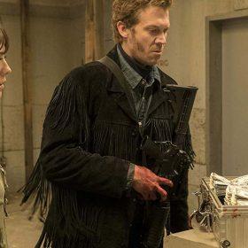 Mr. Wrench Fargo Black Fringe Jacket