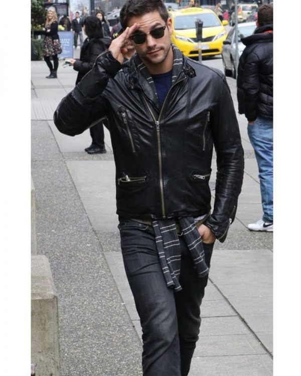 Brant Daugherty Fifty Shades Freed Leather Jacket