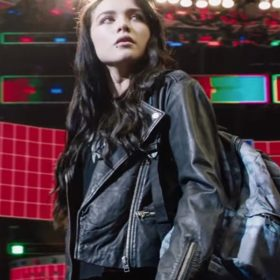 Florence Pugh Fighting with My Family Black Jacket