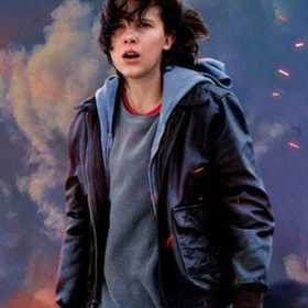 Millie Bobby Brown Godzilla King of the Monsters Bomber Jacket