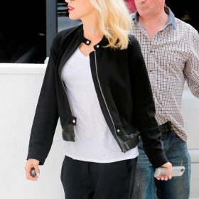 Gwen Stefani Casual Black Jacket