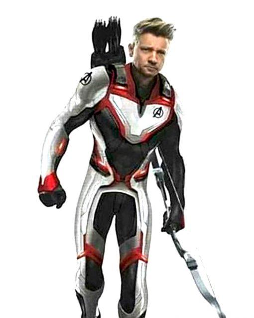 Avengers Endgame Hawkeye Quantum Jacket