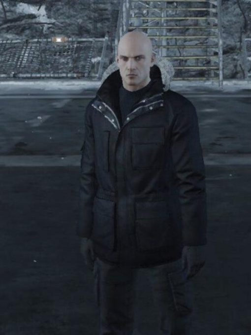 Hitman Agent 47 hooded Jacket