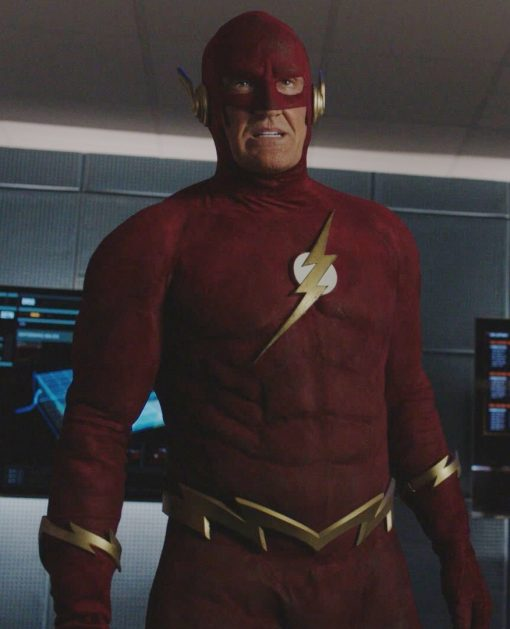 The Flash 90s John Wesley Shipp Red Jacket