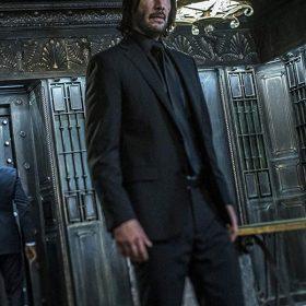 Keanu Reeves John Wick 3 Black Suit