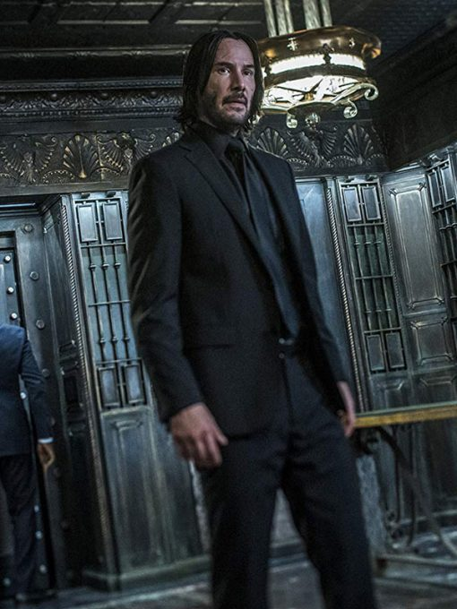 Keanu Reeves John Wick 3 Black Suit