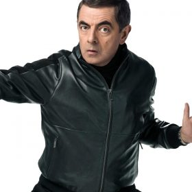 Rowan Atkinson Johnny English Strikes Again Black Jacket