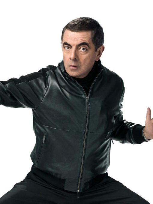 Rowan Atkinson Johnny English Strikes Again Black Jacket