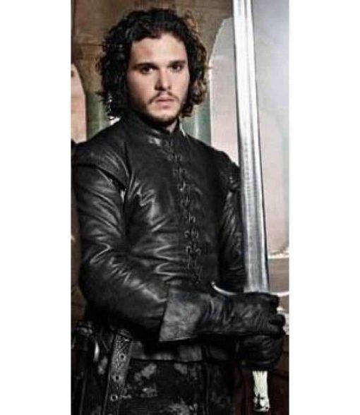 Game of Thrones Jon Snow Black Jacket