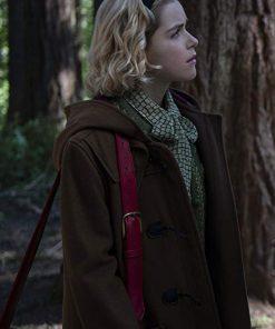 Chilling Adventures of Sabrina Kiernan Shipka Brown Coat