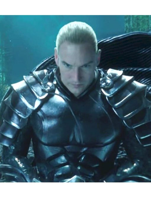 Aquaman King Orm Black Jacket