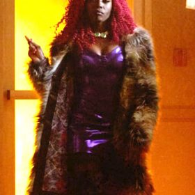 Titans TV Series Koriand'r Coat