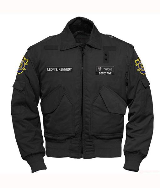 Resident Evil 2 Leon S. Kennedy Black Jacket