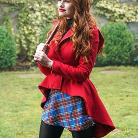 Riverdale Madelaine Petsch Wool Coat