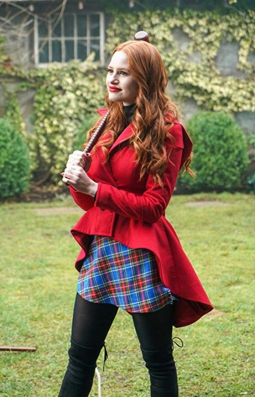 Riverdale Madelaine Petsch Wool Coat