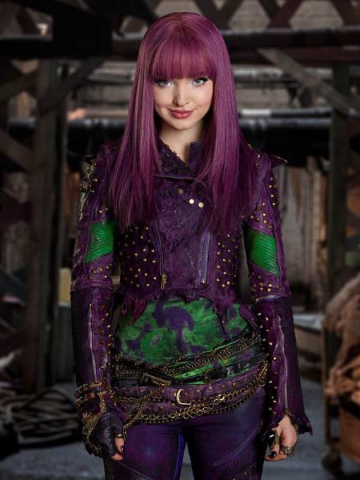 Mal Deluxe Descendants 2 Purple Jacket