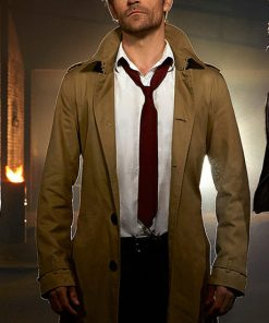 John Constantine Matt Ryan Mid length Jacket