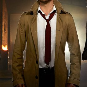 John Constantine Matt Ryan Mid length Jacket