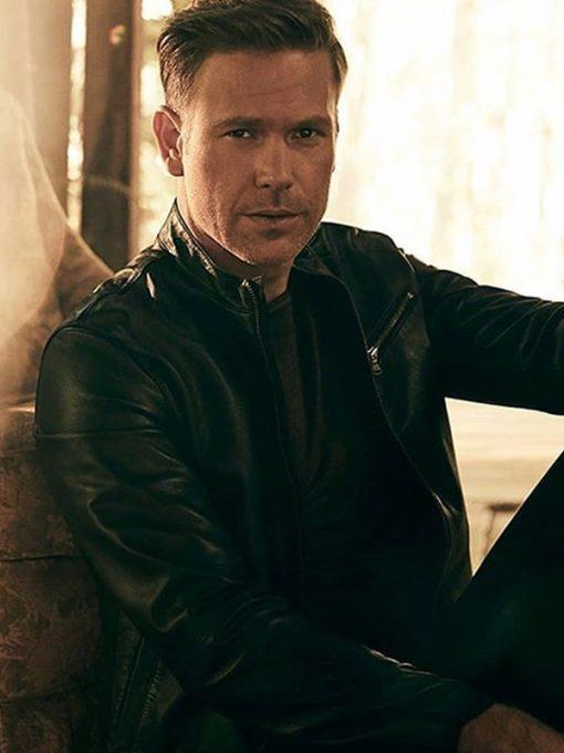 Legacies Matthew Davis Black Leather Jacket