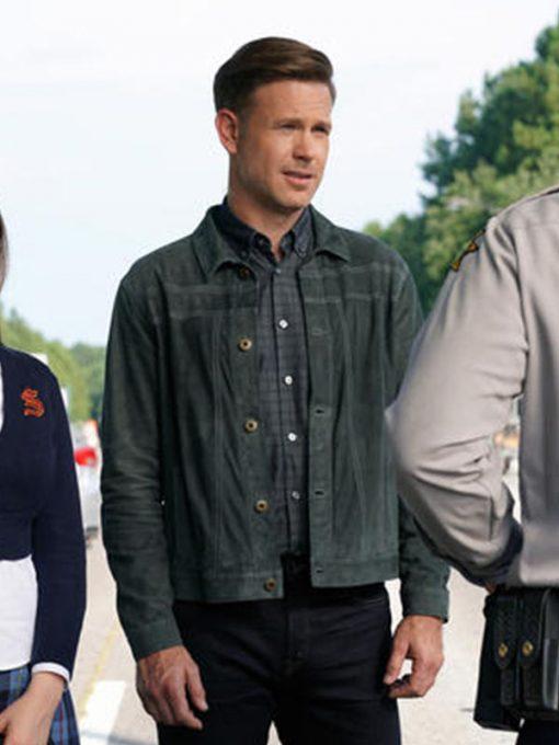 Legacies Matthew Davis Cotton Jacket