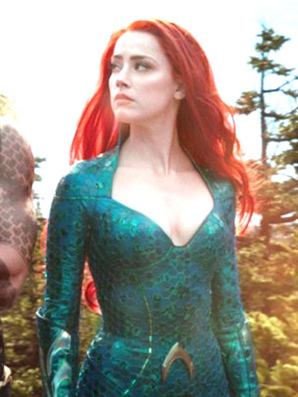 Mera Aquaman Amber Heard Leather Jacket Danezon
