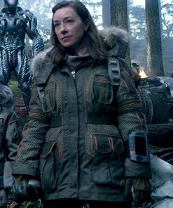 Lost In Space Molly Parker Parka