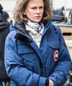 The Goldfinch Nicole Kidman Blue Parka Coat