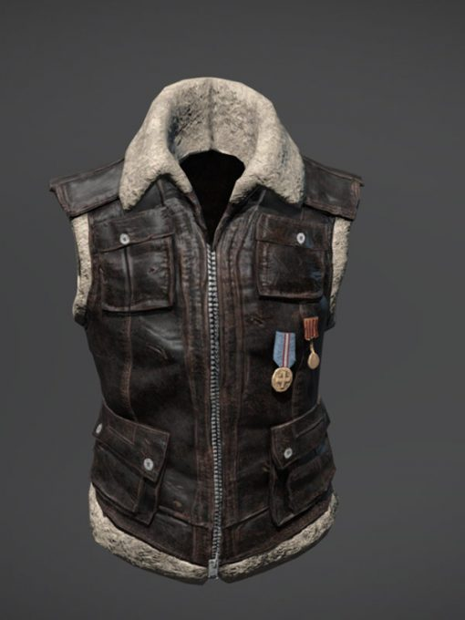 PlayerUnknown's Battlegrounds Online Game Leather Vest