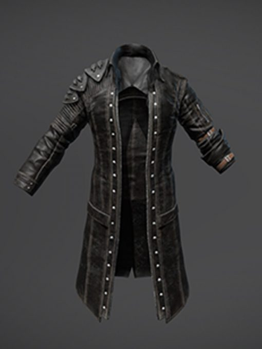 PlayerUnknowns Battlegrounds Long Leather Coat