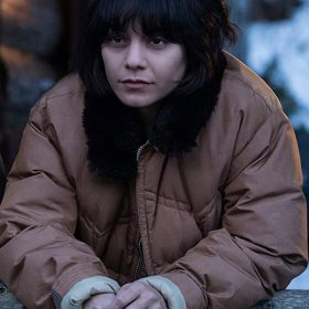 Vanessa Hudgens Polar Brown Cotton Jacket