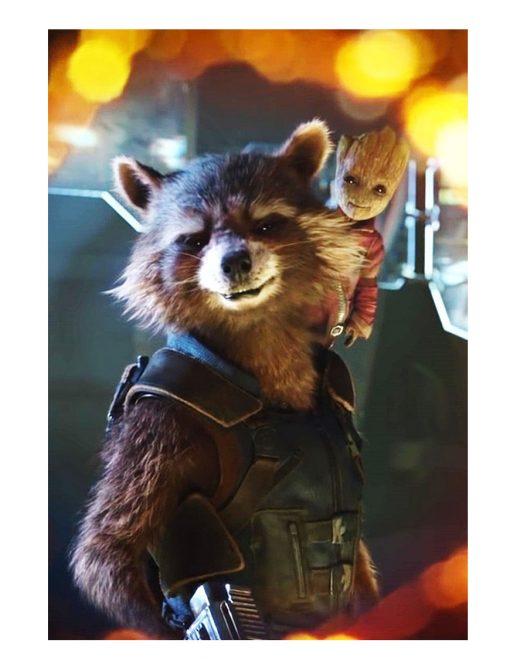 Endgame Rocket Raccoon Cotton Vest
