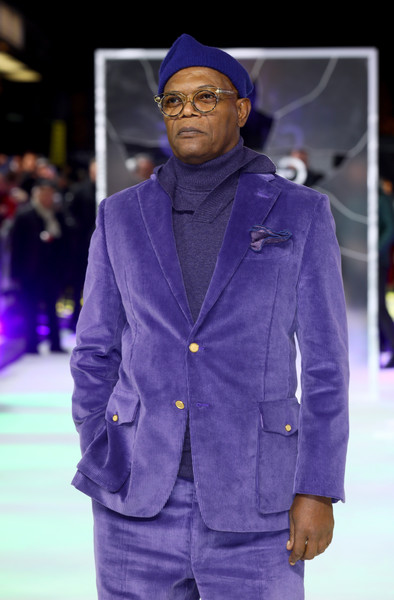 Glass Samuel L. Jackson Purple Blazer