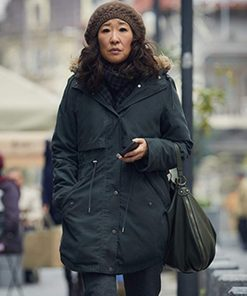 Killing Eve Sandra Oh Cotton Coat