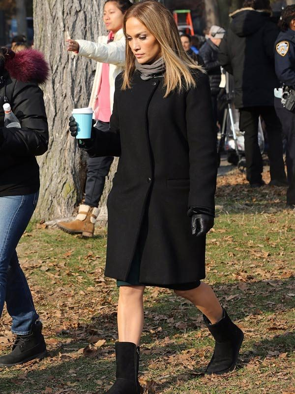 Maya Vargas Second Act Black Wool Coat