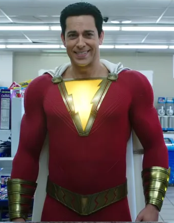 Zachary Levi Shazam Red Jacket