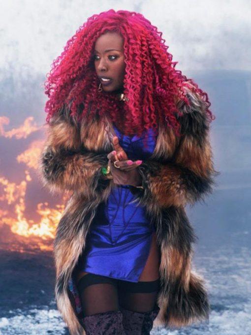 Titans TV Series Starfire Coat