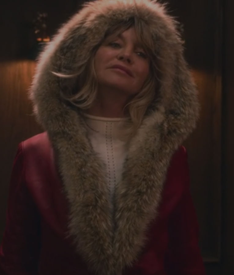 Christmas Chronicles Mrs Claus.Goldie Hawn The Christmas Chronicles Red Jacket