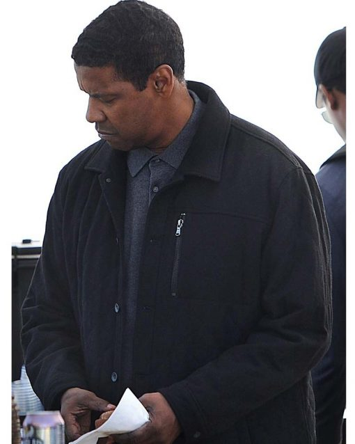 Denzel Washington The Equalizer 2 Black Jacket