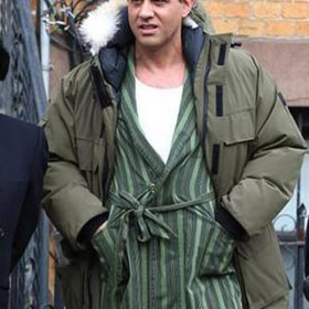 Bobby Cannavale The Irishman Green Coat