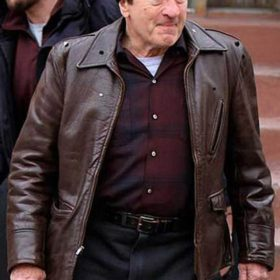Robert De Niro The Irishman Brown Jacket