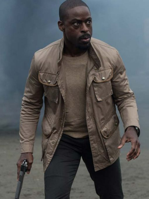 Sterling K Brown The Predator Jacket