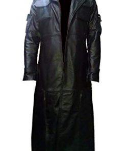 The Punisher Black Leather Coat