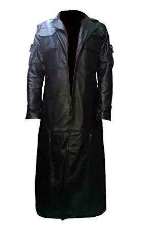 The Punisher Black Leather Coat